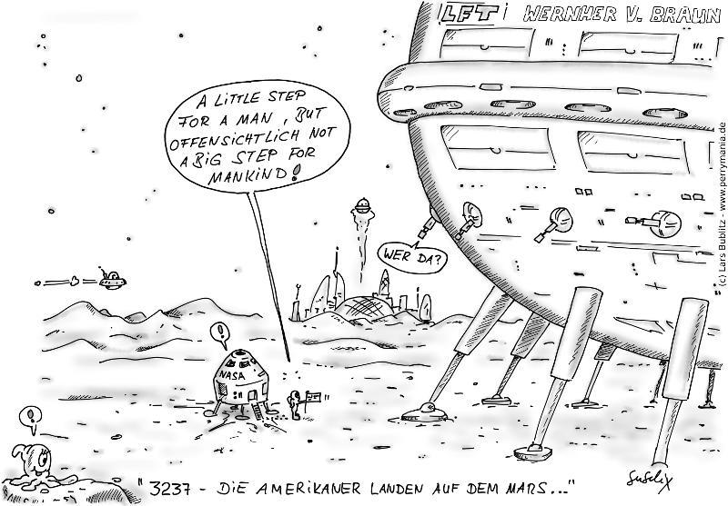 Daily Perry 055 - Amerikaner auf dem Mars