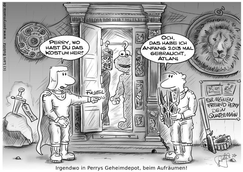 Daily Perry 201 - Kruemelmonster