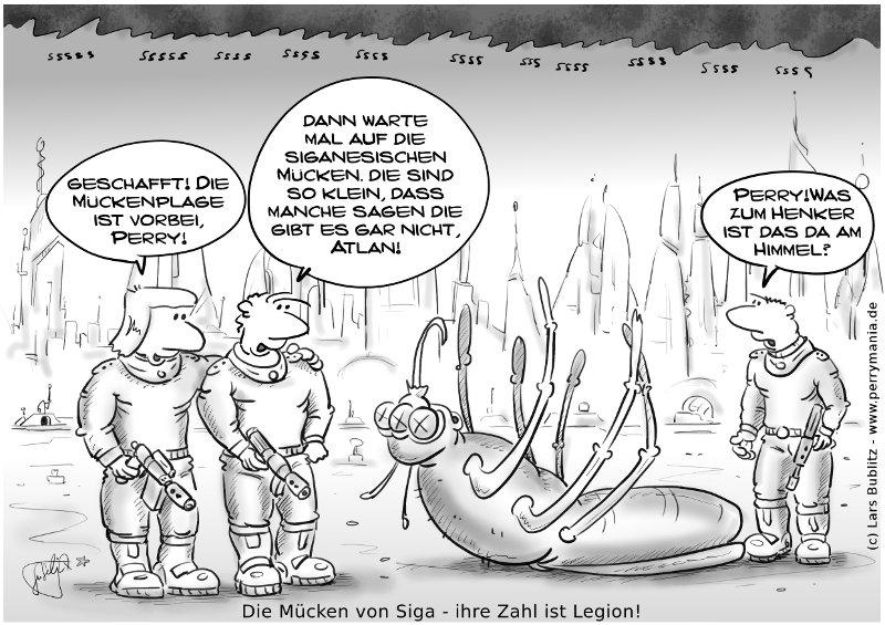 Daily Perry 292 - Die Mücken von Siga