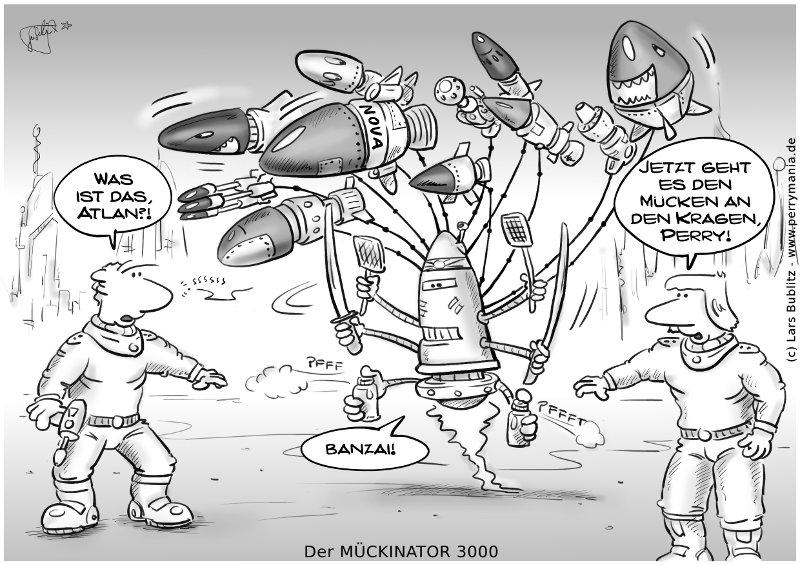 Daily Perry 293 - Der Mückinator 3000