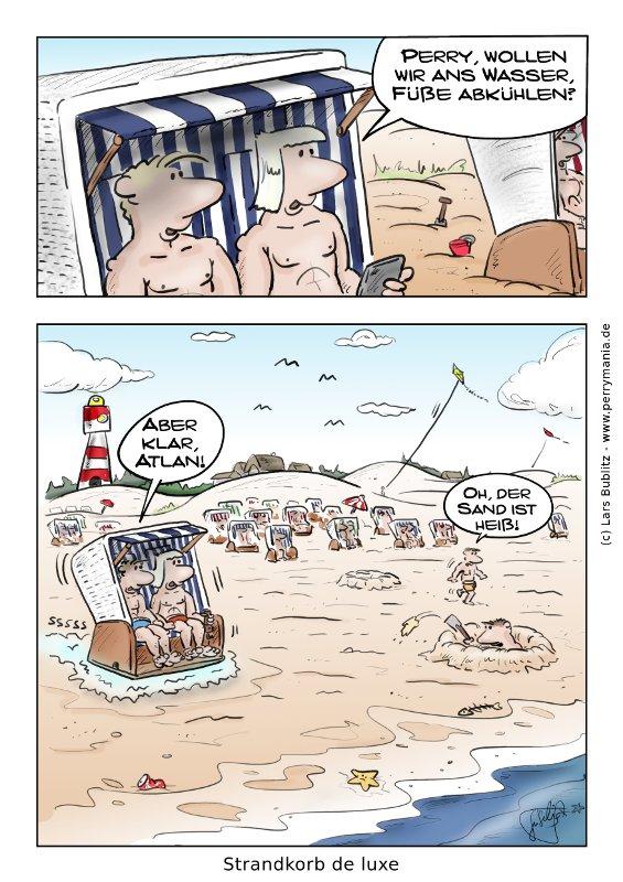 Strandkorb comic  Strandkorb | Perrymania