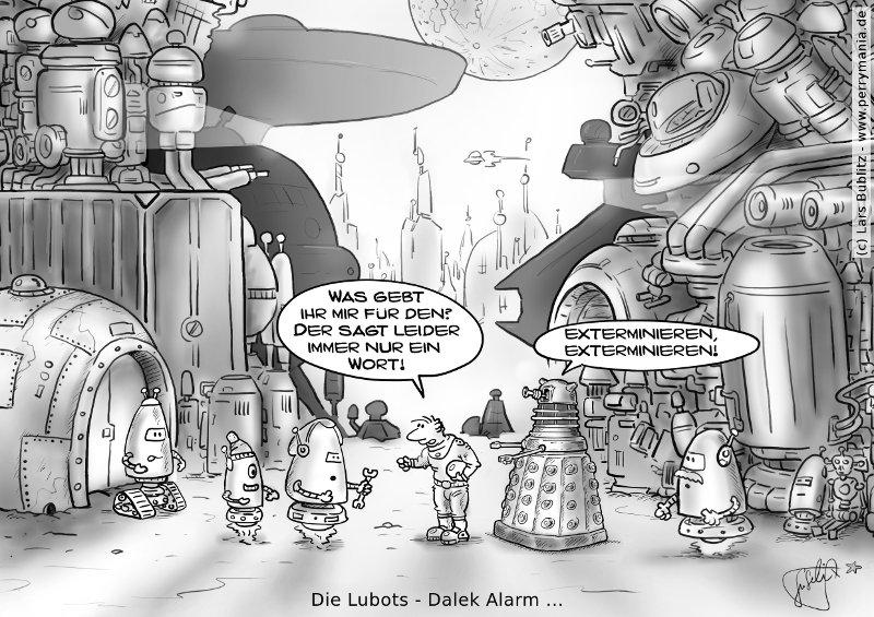 Daily Perry 320 - Die Lubots: Dalek Alarm