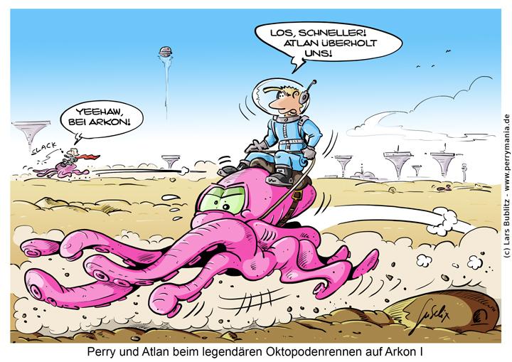 Daily Perry 454 - Oktopodenrennen