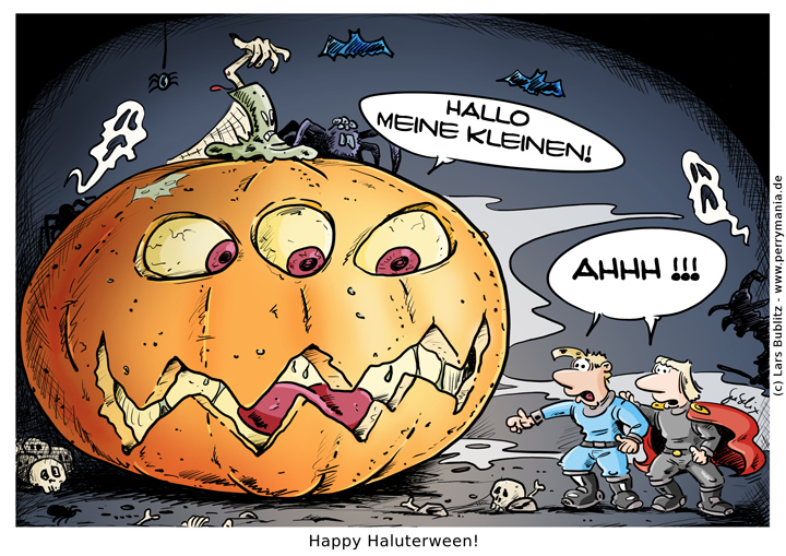 Daily Perry 455 - Haluterween