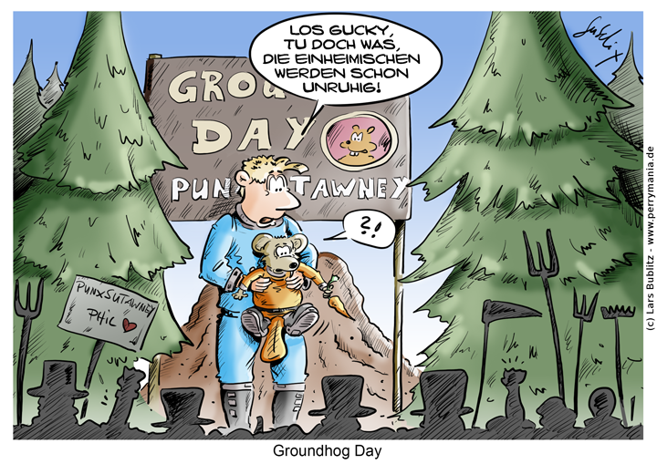 Daily Perry 461 Groundhog Day