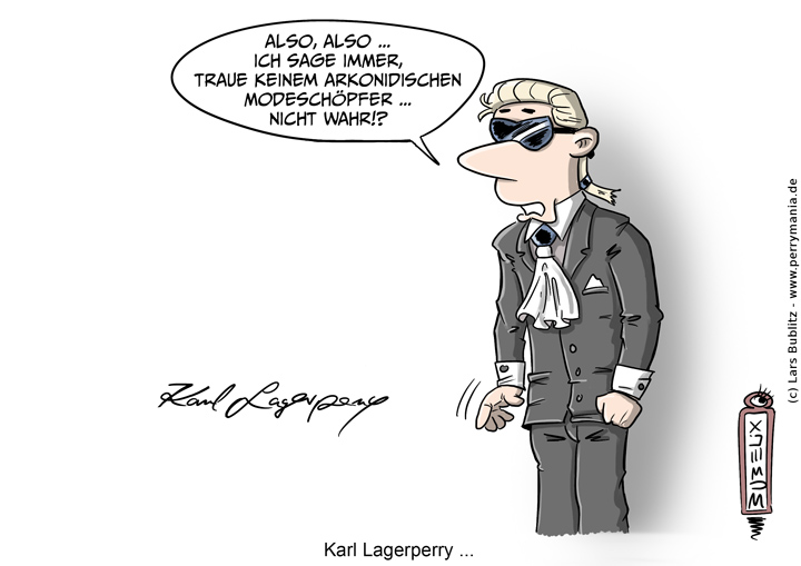 Daily Perry 499 – Karl Lagerperry