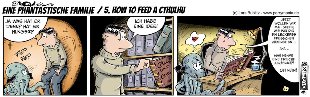 Eine Phantastische Familie - 5. How to feed a Cthulhu